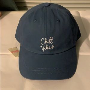 NWT PINK chill vibes hat